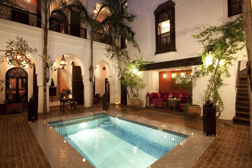 Riad Assouel Marrakech Morocco  An Authentic Riad In The